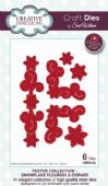 Sue Wilson Craft Dies - Festive Collection - Snowflake Flourish & Corner- CED3110